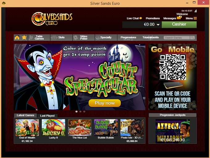 sands online casino king of casino