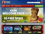 BETAT Casino Home Page