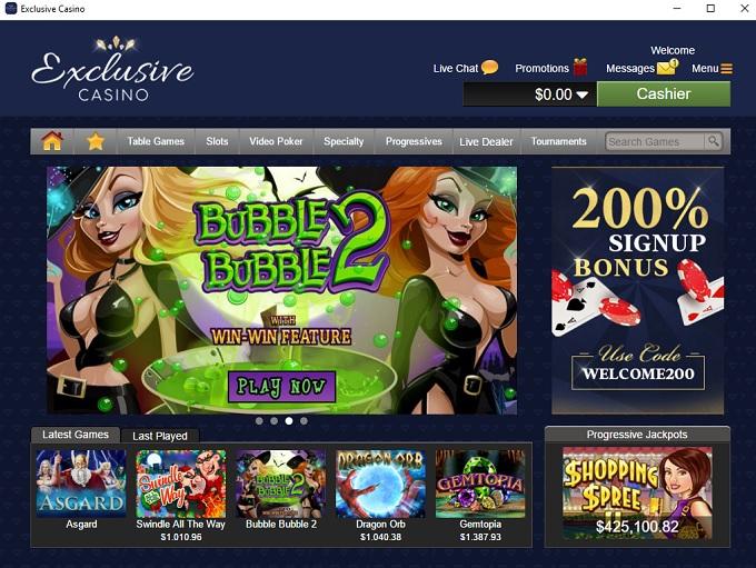 exklusiv casino