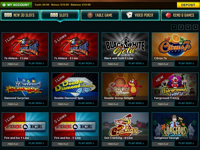 online casino review  games