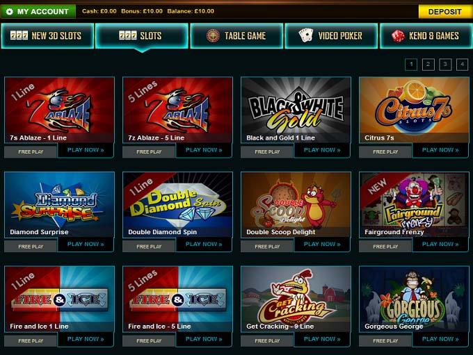 online casino roulette kazino games