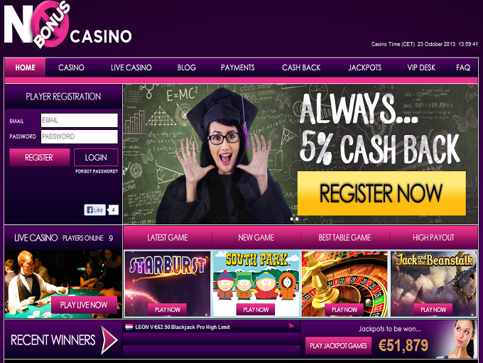 free play online casino wonky