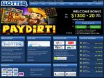 Slotter Casino Home Page