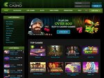Cyber Club Casino Home Page