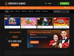 Kroon Casino Home Page