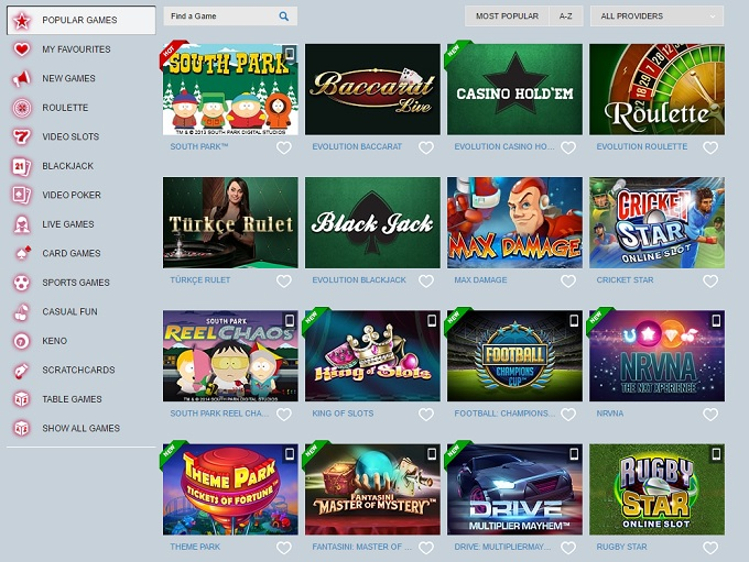 Betin Online Casino Review