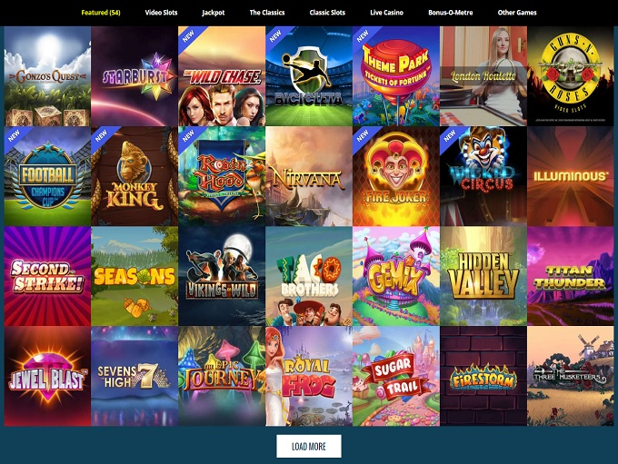 Thrills Casino - Login to Thrills Casino