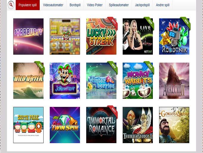 Spilleautomater.com casino