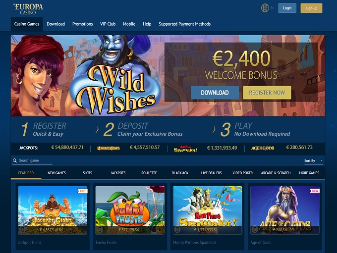 triomphe casino signup bonus
