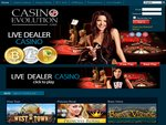 Casino Evolution Home Page