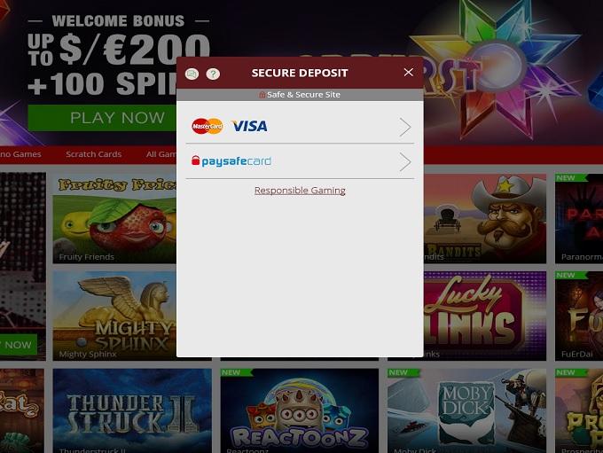 magic red online casino