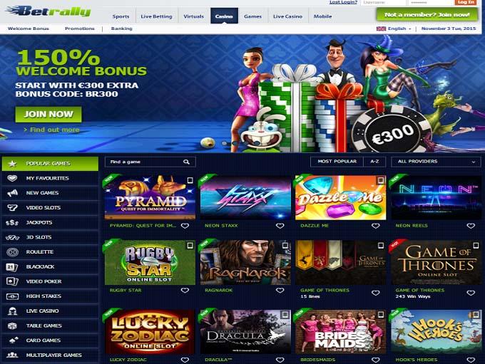 betrally online casino