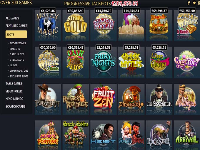 casino games new vegas