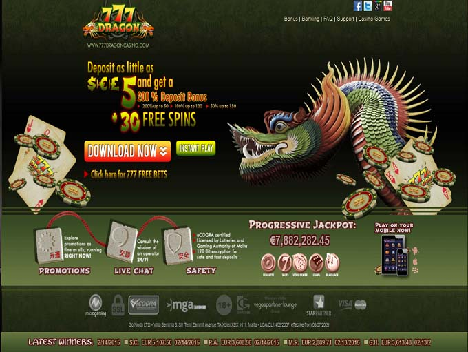 Casino 777 dragon