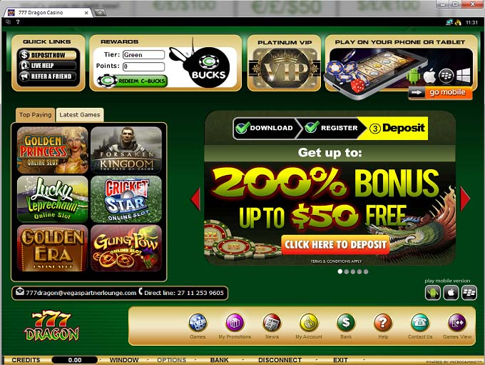 777 casino online game