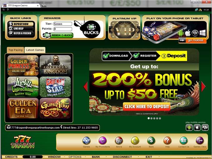 В казино 777 dragon casino online circus casino