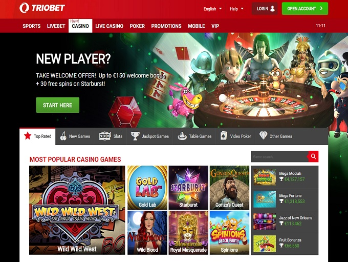 Триобет казино play on casino online