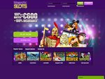 Majestic Slots Home Page