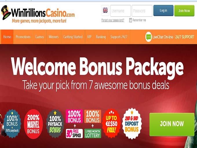 wintrillions casino