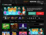 Crystal Casino Home Page