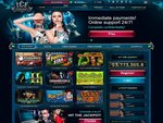 IceCasino Home Page