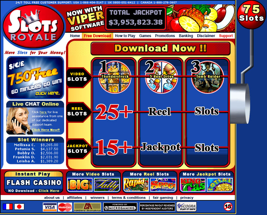 free casino royale games