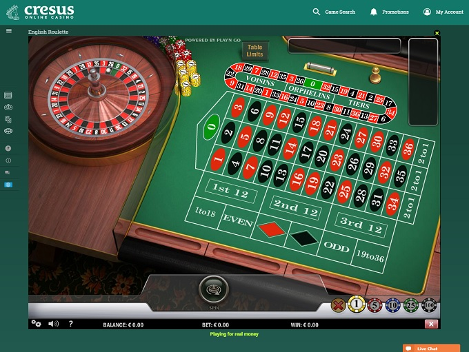 Free spins cresus casino
