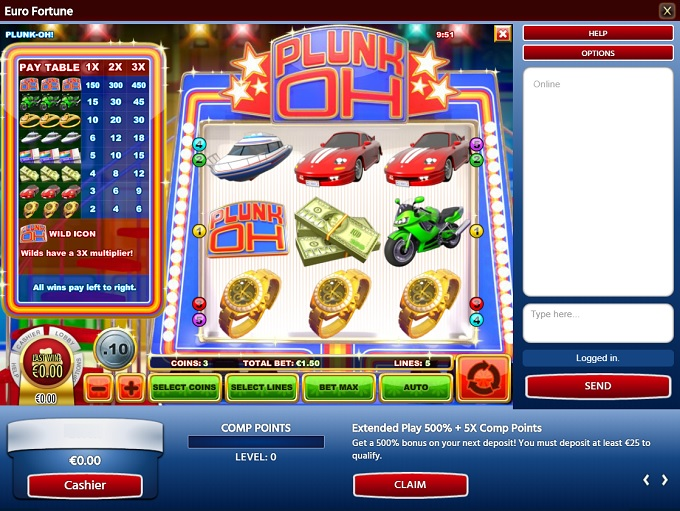 Eurofortune Online Casino