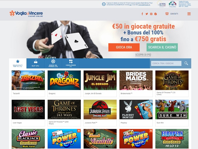Voglia di Vincere Casino Review – User Reviews
