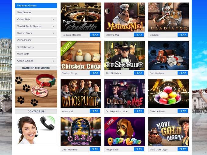 blu casino online