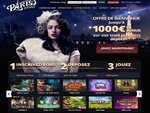 Paris Casino Home Page