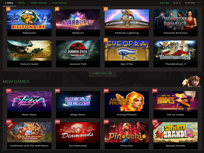 free online casino games rs