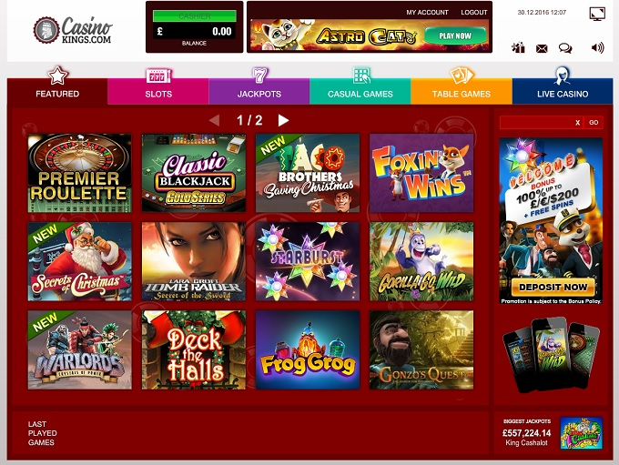 online casino review spiele king