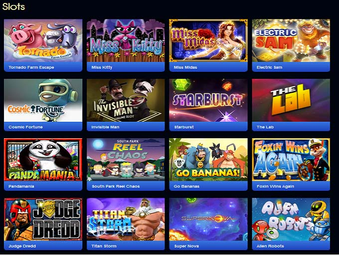 huge slots online casino