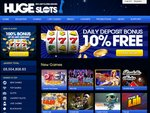 Huge Slots Home Page
