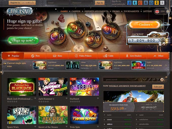 Joy Casino Review