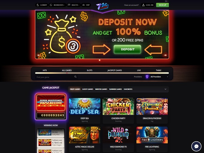 7bit Casino Online Casino Review