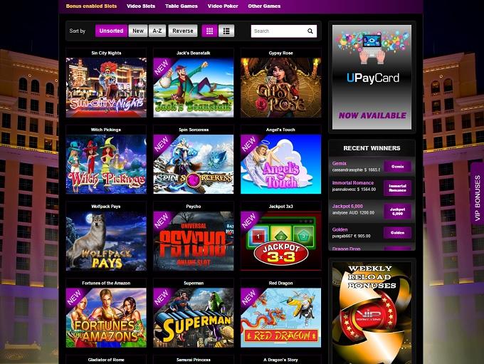 Online Casino Room