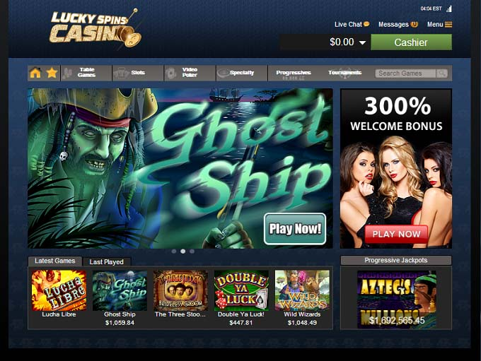 online internet casino free spin games