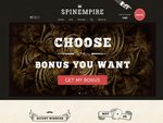 SpinEmpire Casino Home Page