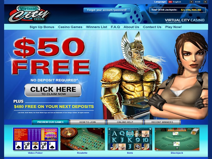 free virtual casino games online