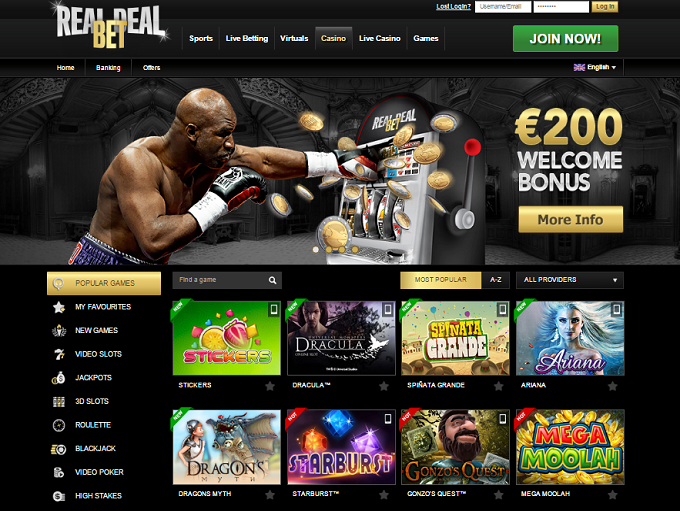 real dealer online casino slots