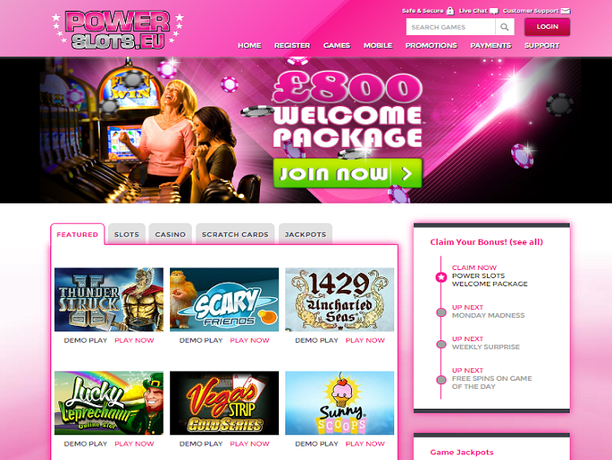 online casino gaming sites power star