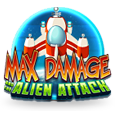 Max Damage and the Alien Attack  Arcade Game by MicroGaming