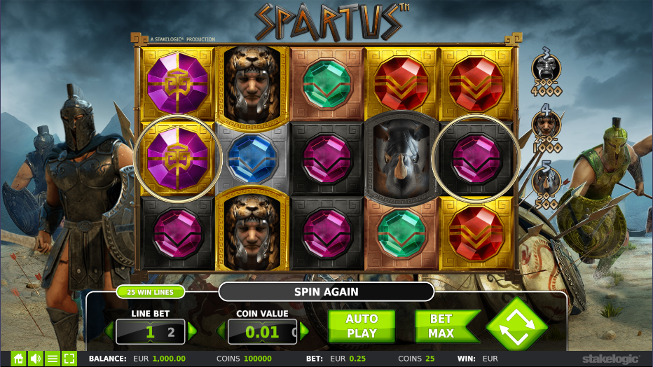 Spartus by Stakelogic
