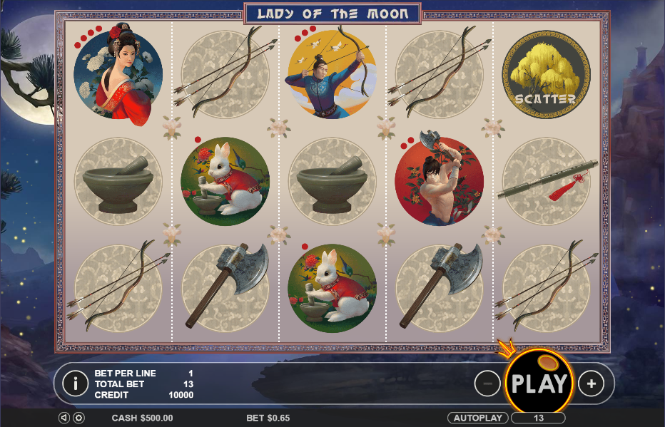 Lady of the Moon Slot - Play the Online Version for Free
