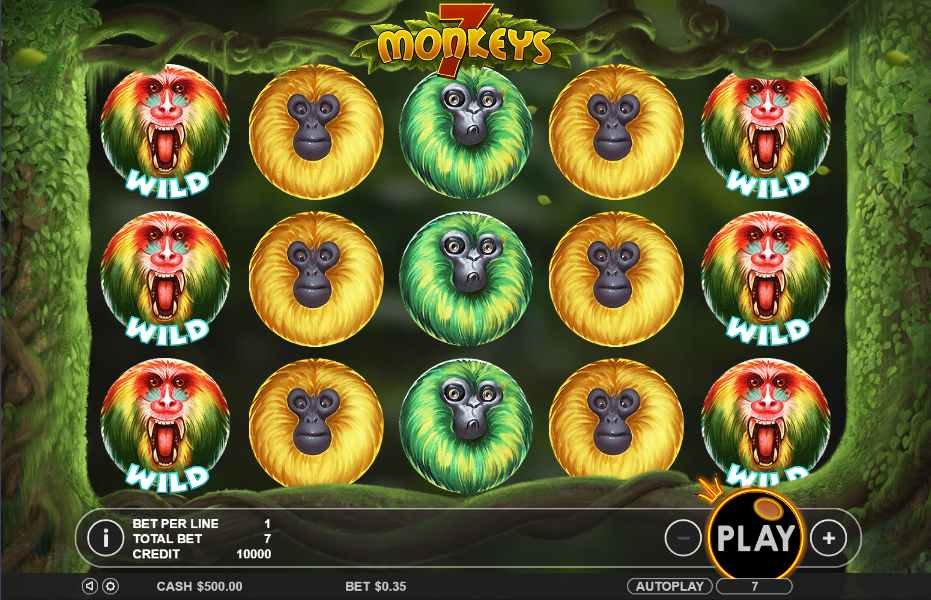 7 Monkeys by Pragmatic Play