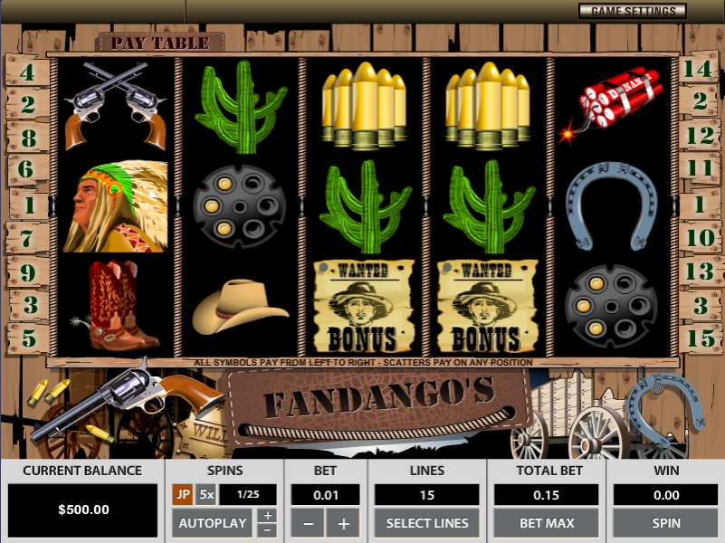 Fandango's by Octopus Gaming