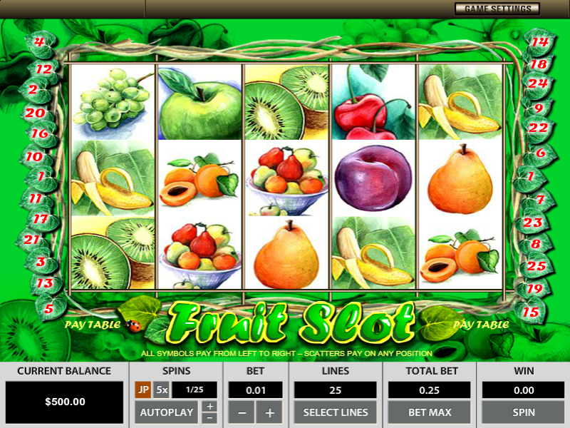 Fruit Slot by Octopus Gaming