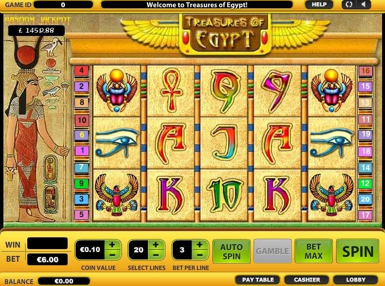 Free Slots Com Treasures Of Egypt
